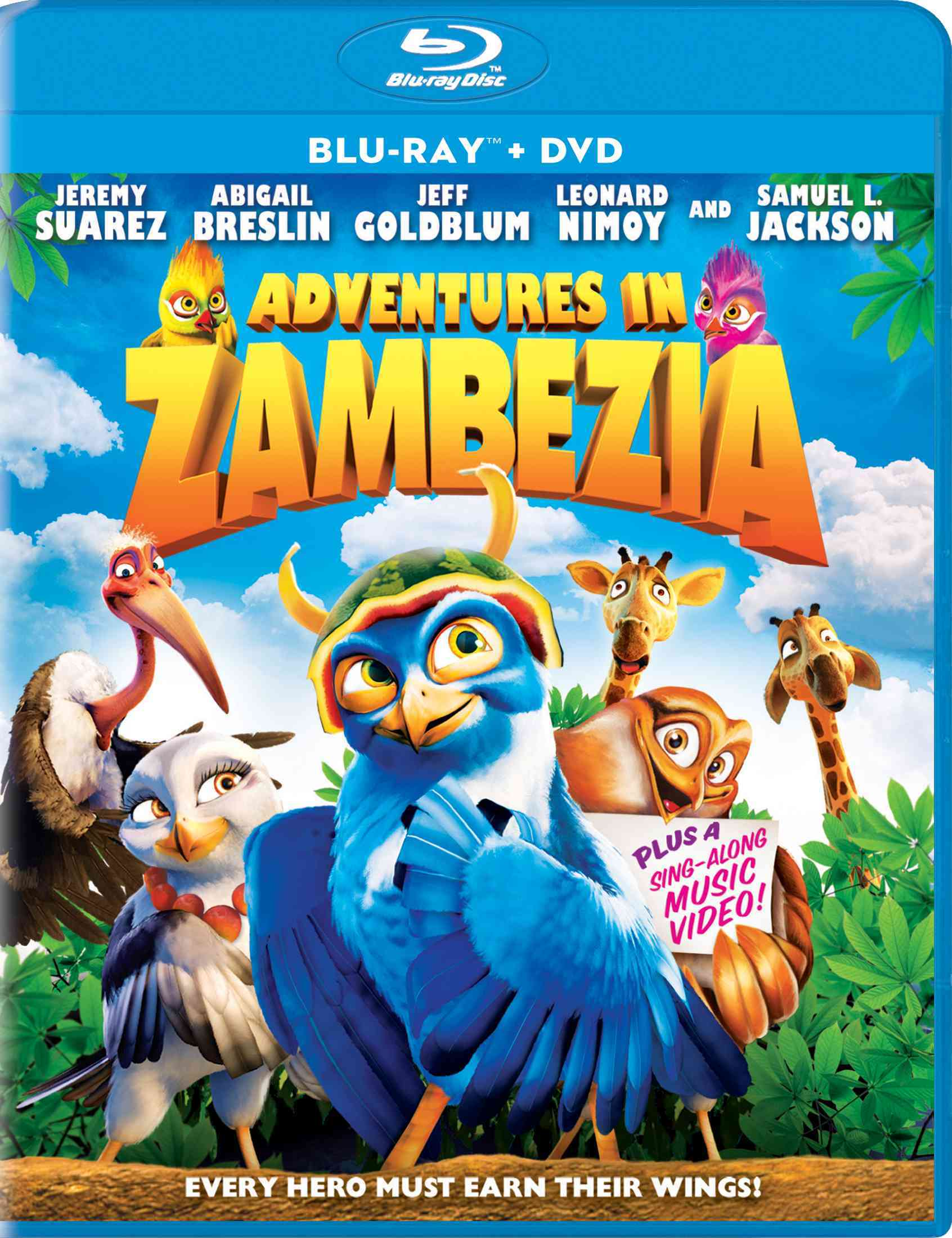ADVENTURES IN ZAMBEZIA BY NIMOY,LEONARD (Blu-Ray)